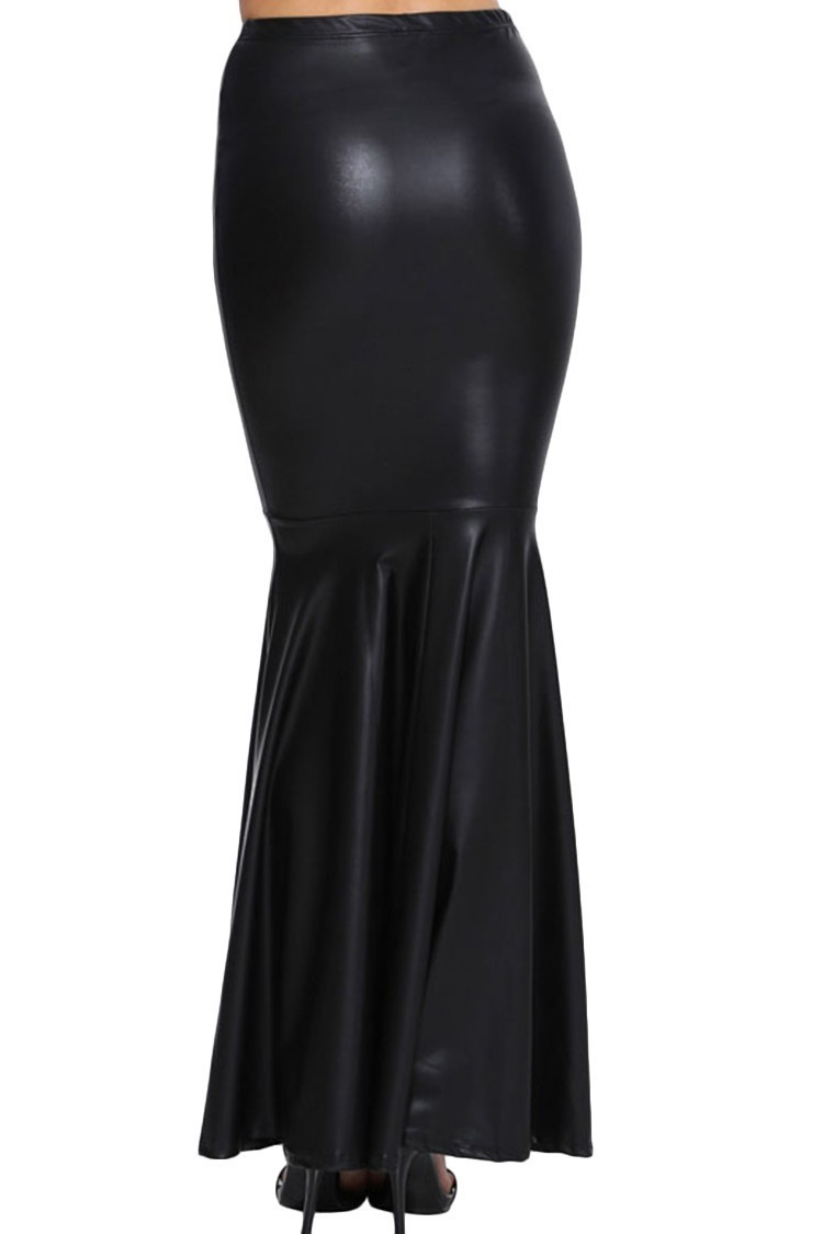 Woman-Big-Plus-Size-8XL-Maxi-Long-Black-Faux-Leather-Skirt-Women-Saia-Longa-Femininas-Ladies (2)
