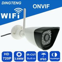 720P 1MP HD Security Ip Camera Wifi Day And Night View CCTV Suiveillance Outdoor Waterproof TFcard