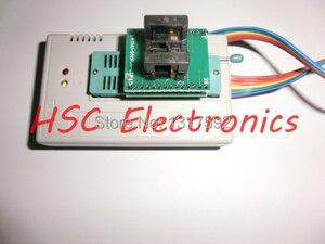 Image 3 - V7.03 TL866II PLU USB uniwersalny Minipro programista 9 sztuk adaptery + Test klip + 25 SPI Flash adapter