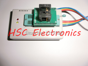 Image 3 - v7.03 TL866II PLU USB Universal Minipro Programmer  9PCS adapters+Test clip+25 SPI Flash adapter
