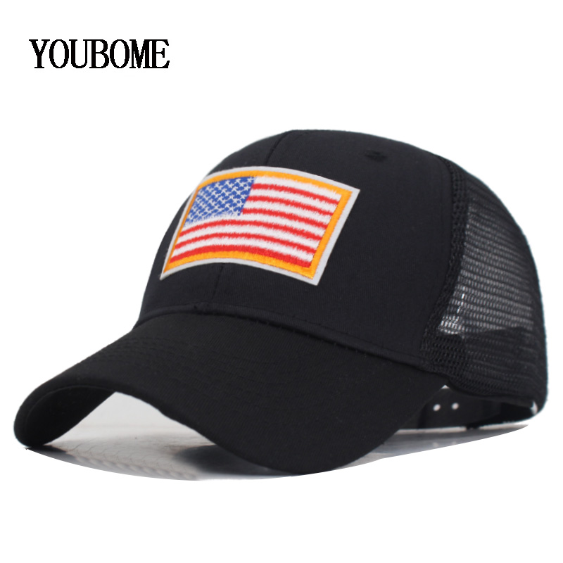US Navy P-3 Orion Squadron USA Flag Unisex Adult Hats Classic Baseball Caps Sports Hat Peaked Cap