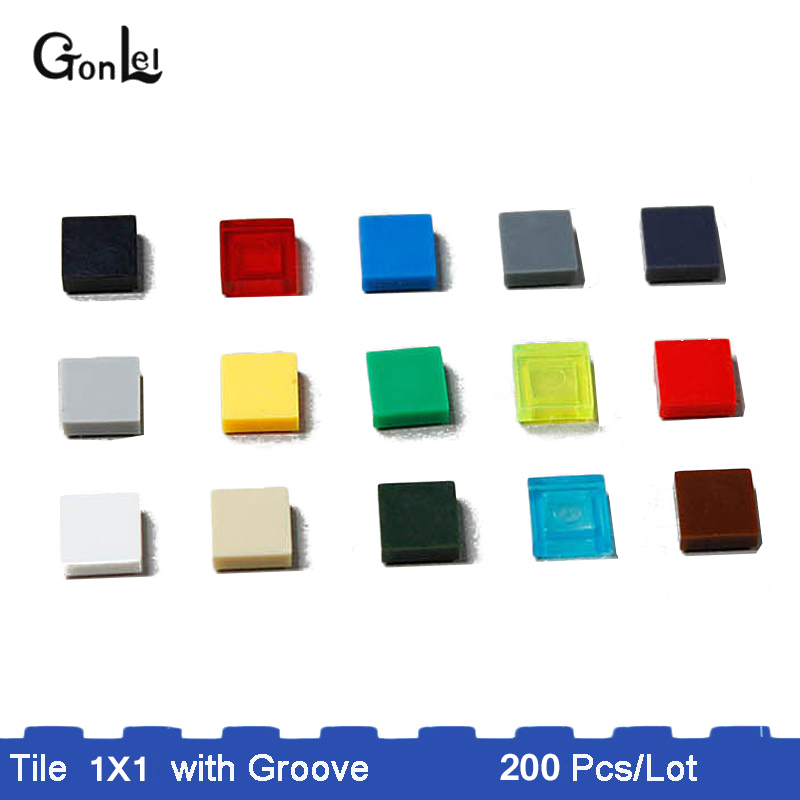 FREE POSTAGE SELECT COLOUR Part 3070 // 3070b 5 x NEW LEGO Tiles 1x1