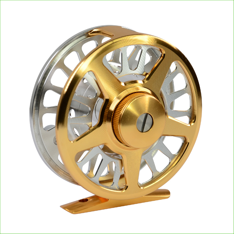 Fly reel FB-1,6061AL.,CNC machine,changed easily from right to left hand greenеll fb 1