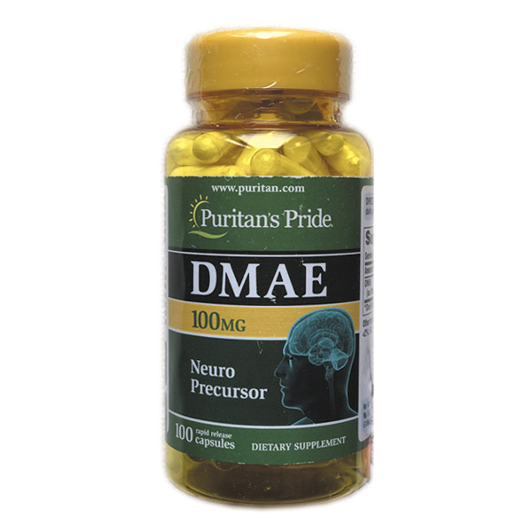 Free Shipping DMAE 100 mg Neuro Precursor 100 pcs цены