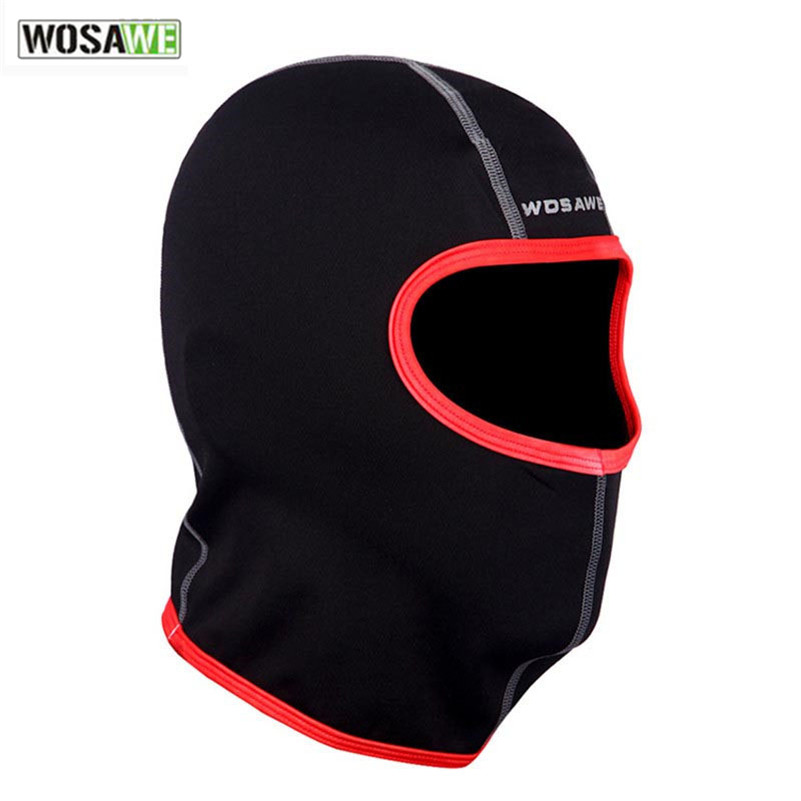 WOSAWE Winter Face Mask Warm Thermal Fleece Bike Head Cover Sport Hiking Camping Running Masks Bicycle Cycling Face Mask