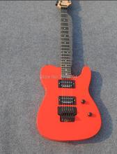 Høj kvalitet, TL elektrisk guitar. Double roll guitar. Røde, rigtige billeder. Fabriks engros. Levering af EMS