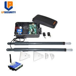 Image 1 - Actuador lineal eléctrico a prueba de agua, motor de doble brazo para puerta oscilante, con botón de lámpara GSM para sesión fotográfica, opcional, envío gratis