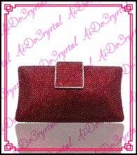 Aidocrystal meistverkauften schöne qualität rote hochzeit handtasche und schuhe set für party