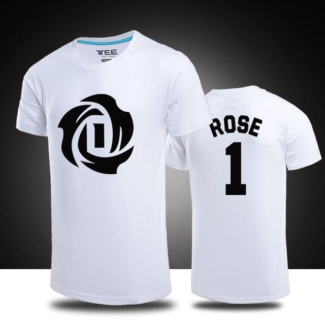 derrick rose jersey t shirt