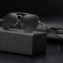 COLECAO Polarizar Vidrios de Los Hombres gafas de Sol Polarizadas Hombres de Moda HD para Puntos de Conducción Pesca gafas de sol hombres c1507