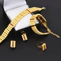 Nueva llegada etíope la joyería de estilo gargantillas collar juegos de anillos pendiente pulsera Eritrea Habesha áfrica mujeres