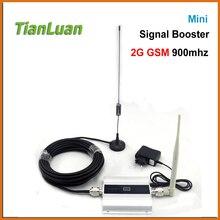 Tianluan ЖК-дисплей GSM усилитель 2 г Сотовый телефон GSM усилитель сигнала 900 мГц мобильный ретранслятор сигнала Сотовая связь Усилители домашние с Телевизионные антенны полный набор