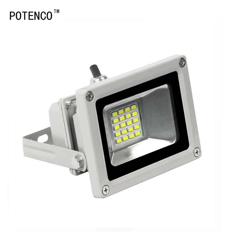 POTENCO Floodlight LED Spotlight IP65 Refletor Led Light Outdoor Street Lighting Garden Wall Lights Landscape Projector Lamp