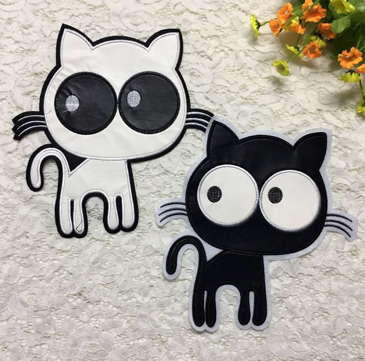 2019 New Fashion DIY Applique Embroidery Applique Costume Decoration Dimensional Jeans Patch