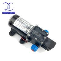 12V24V 100W High Pressure Professional Water Pump Micro Electric Diaphragm Pump Self priming Booster Pump 8L/min For Car Washing