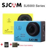 Оригинальный SJCAM sj5000 серии sj5000 Wi Fi SJ5000X Elite 4 К Спорт действий Камера SJ Cam + дополнительная 1 шт. батареи + Зарядное устройство