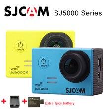 Original SJCAM SJ5000 Series SJ5000 WiFi SJ5000X Elite 4K Sports Action Camera SJ cam +Extra 1pcs battery + Charger