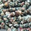 Envío libre venta al por mayor Natural India ágata piedra grava Irregular accesorios de la joyería Diy una cadena de 85 - 90 cm ( JM4323 )