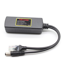 цена на POE Splitter IEEE 802.3AT Standard 12V/1A-2A DC Output DC48-52V Input for CCTV IP camera Security System