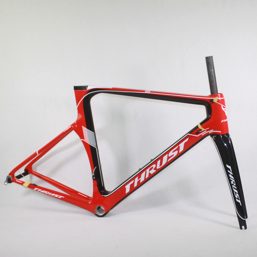 ᗛTHRUST Carbon Bike Frame 48 50cm 52cm 54cm 56cm Road Frame Di2 ...