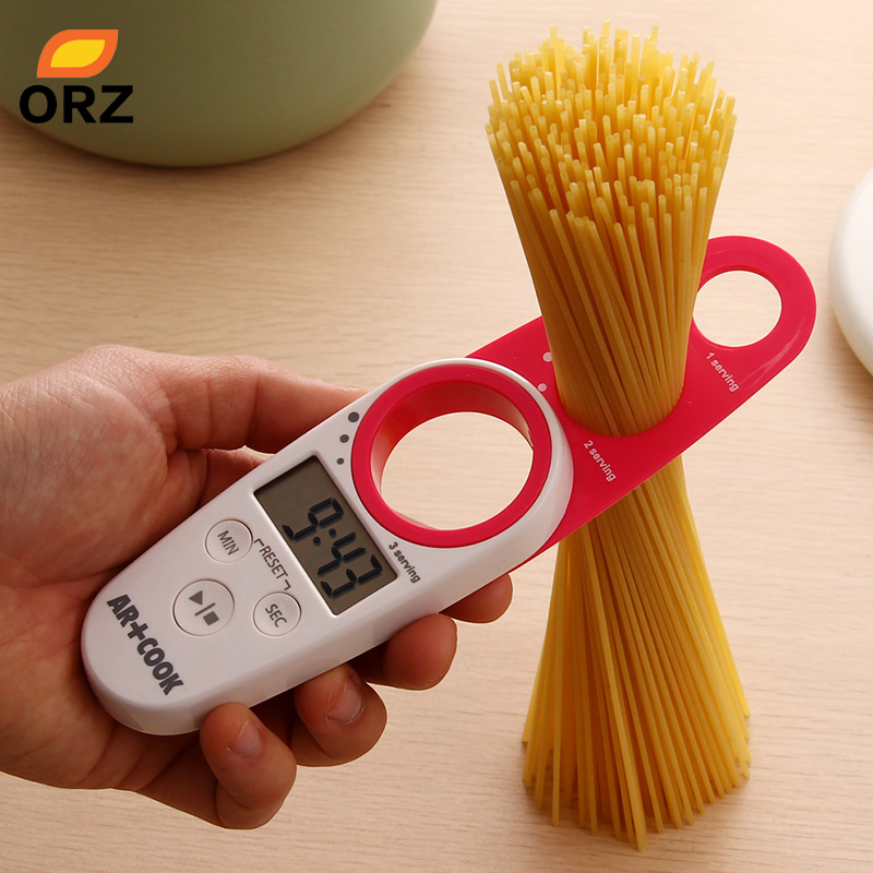 ORZ Kitchen Timer Spaghetti Pasta Noodle Measures Kitchen Gadget Measuring Tools Accessories Egg Timer Cooking Tools gadget