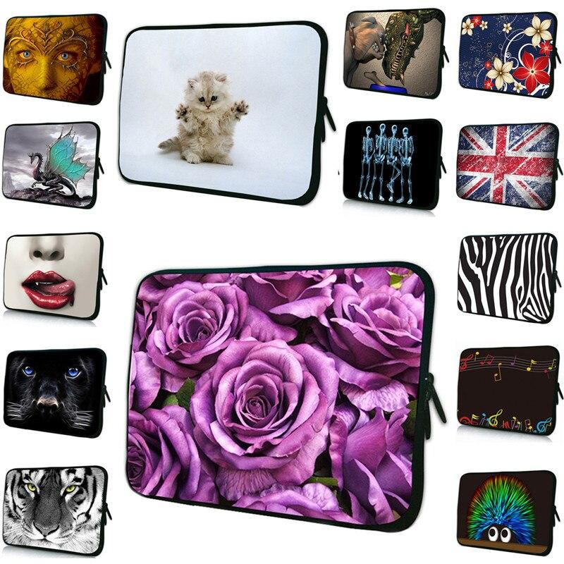 Viviration 2018 Fashion Women Neoprene Case For Xiaomi Notebook Bag 15 13 12 10 14 17 7 7.9 10.1 9.6 13.3 17.3 Inch Zipper Cover