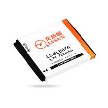 Lvsun slb-07a, Slb07a устанавливает-07a SLB-07 аккумулятор для Samsung ST45 ST50 ST500 ST510 ST550 ST560 ST600 PL150 PL151 TL90 TL100 TL210 TL225