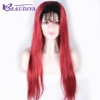 Beaudiva Lace Front Wigs For Black Women With Baby Hair Human Hair Wigs Brazilian Straight Remy