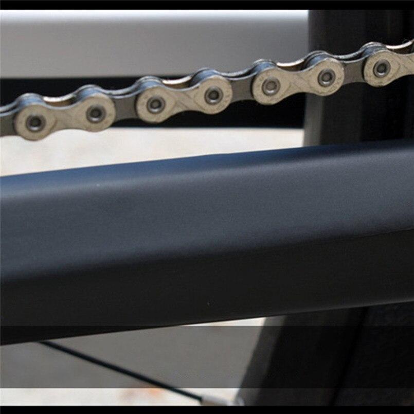 MTB Fahrradkette Stay /& Frame Kratzschutz Fahrradschutz Aufkleber Paster