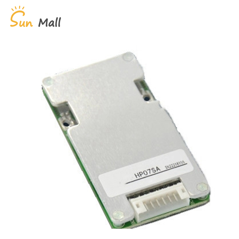4S 12V Lithium battery protection board iron phosphate with Balance Same port BMS lightweight