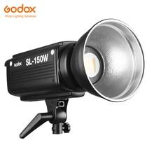 Godox SL 150W 150ws 5600 k 화이트 버전 led 비디오 라이트 스튜디오 카메라 dv 캠코더 용 연속 사진 비디오 라이트