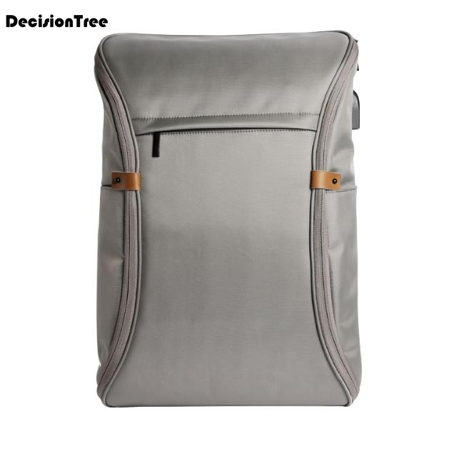Simple Fashion Men Solid Backpack Male Travel Multifunctional Waterproof Computer Bag Casual USB Rechargeable Shoulder BagL277Simple Fashion Men Solid Backpack Male Travel Multifunctional Waterproof Computer Bag Casual USB Rechargeable Shoulder BagL277