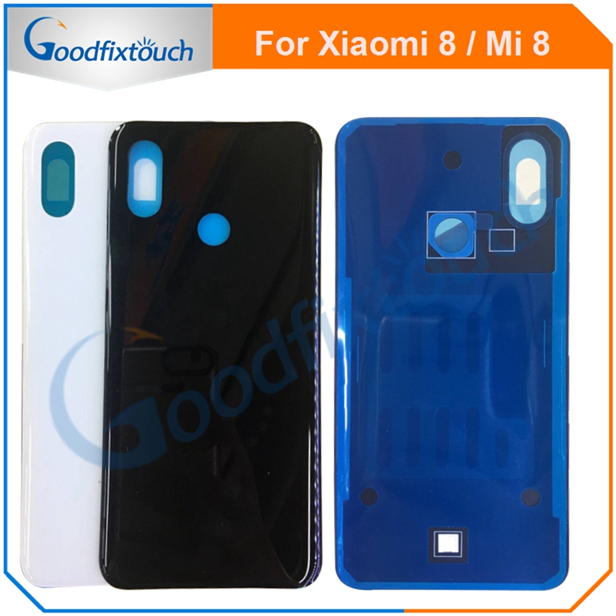 For <font><b>xiaomi</b></font> <font><b>8</b></font> <font><b>MI</b></font> mi8 100% Original 3D Glass NEW Back <font><b>Battery</b></font> <font><b>Cover</b></font> Rear Door Housing Case Panel Replacement <font><b>Battery</b></font> <font><b>Cover</b></font> 6.21