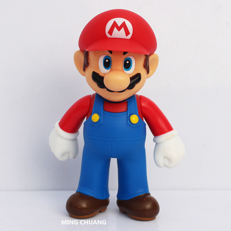8CM SUPER MARIO PVC Anime action figure deformable Luigi Toys Gifts New In Box