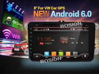 Bosion 2 Din Android 6 0 1 Car Radio GPS Navigation 8inch Full Touch Screen For