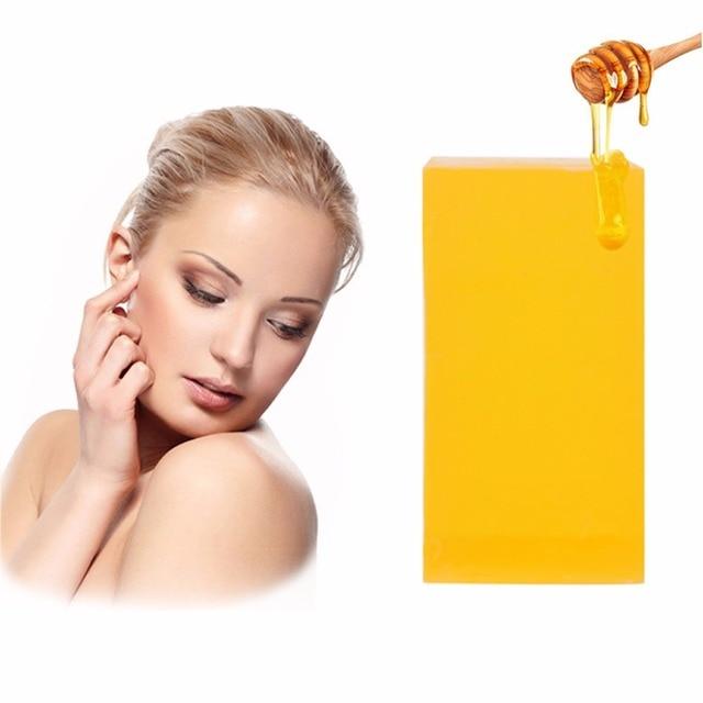 100g 100% HandMade Whitening Peeling Glutathione Arbutin Honey Kojic acid Soap 3
