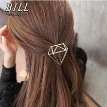 TS404 2018 Hairpins Triangle Geometric Hair Pin Jewelry Hair Clip For Women Barrettes Head Accessories Bijoux