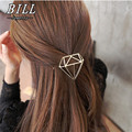 TS404 2018 Hairpins Triangle Geometric Hair Pin Jewelry Hair Clip For Women Barrettes Head Accessories Bijoux