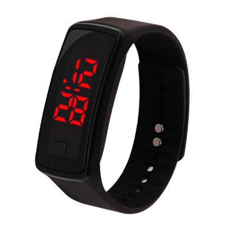 1 Pcs LED דיגיטלי יד לילדים שעונים חיצוני ספורט מתנות Relogio Montre יותר אינטימי נוח אופנה צבעוני 2019NEW