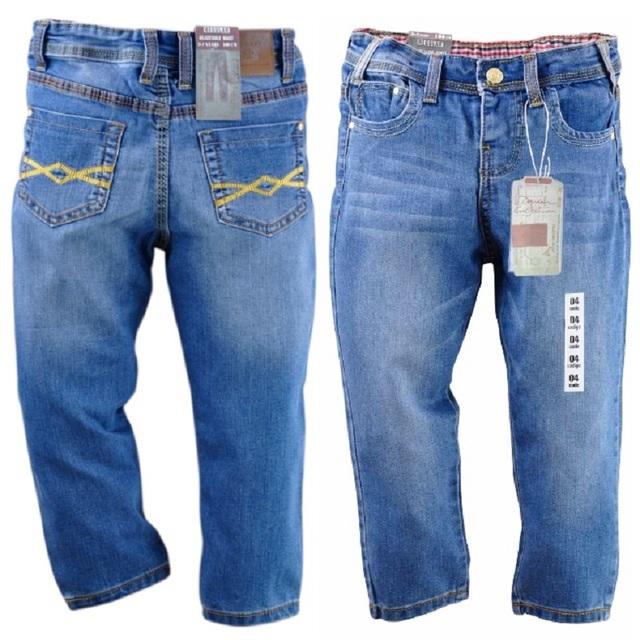 2016 Muchachos de La Manera Pantalones Vaqueros Casuales Niños Pantalones de Los Niños Pantalones de Jean Jeans para niños