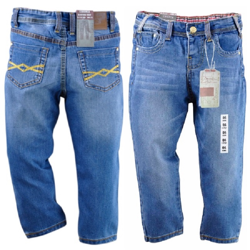 Hooyi Fashion Boys Jeans Casual Kids Pants Children's Jean Trousers Jeans for boys Clothes new fashion women slim jeans casual roses embroidery pencil pants female short trousers for ladies