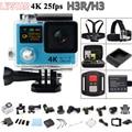 Original H3/H3R Câmera Ação Remota Ultra HD 4 K WiFi Dual Screen 170D Helmet Cam ir pro câmera à prova d' água 1080 P/60fps