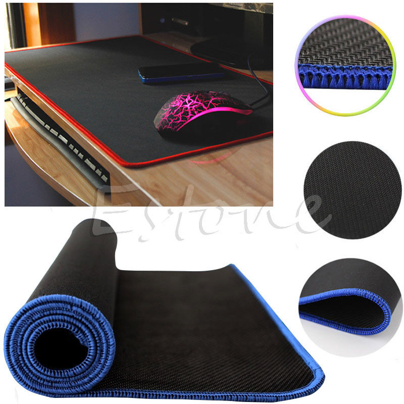 600*300 *2mm Mouse Pad Mat Large Size Multi color PC Laptop Computer Rubber Gaming ...