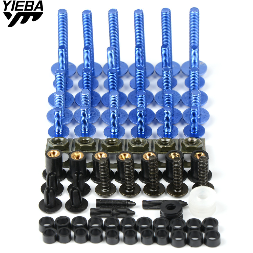 motorcycle Fairing Bolts for Aprilia CAPANORD 1200/Rally CAPONORD/ETV1000 DORSODURO 700 1200 bmw R1200GS R1200R <font><b>R1200ST</b></font> All year image