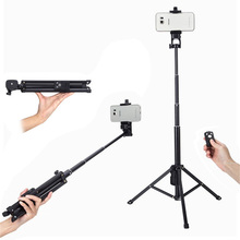 New 3 in 1 Aluminum Multi function Bluetooth Selfie Stick With Tripod 31 134cm Extendable Monopod