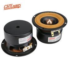 GHXAMP 3 pouces gamme complète haut parleur Tweeter moyenne basse haut parleur chiffon balle HIFI unité ordinateur TV Bluetooth Audio 98Hz 20 KHz 1 paires