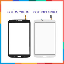 "8.0 ""Voor Samsung Galaxy Tab 3 8.0 SM-T310 T310 En SM-T311 T311 Touch Screen Digitizer Sensor Front Buitenste Glas lens Panel(China)"