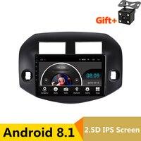 10,1 2.5D ips Android 8,1 DVD мультимедиа плеер gps для Toyota RAV4 2007 2010 2011 2012 Аудио автомобилей Радио стерео навигации
