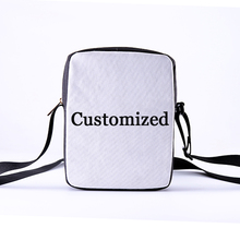 CROWDALE DIY Customize Crossbody Bags new design messanger bag 3D Customize Personalized Pattern Ladies Crossbody bag 23x17x5cm