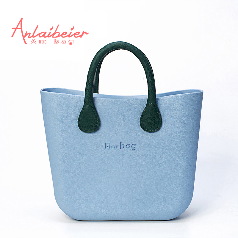ANLAIBEIER Mini Ambag Waterproof  EVA AMbag with Colorful Handles Fashion Women'